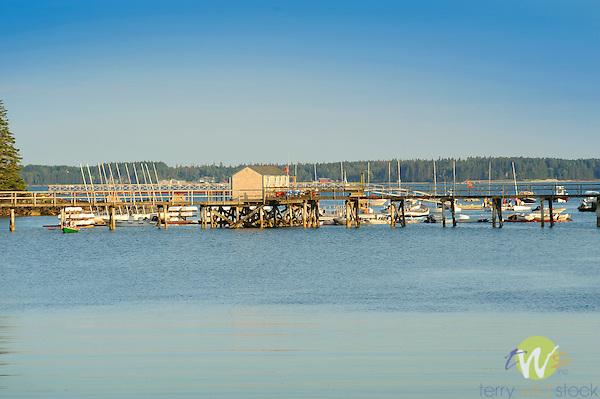 Southwest Harbor, Somes Sound, Acadia, ME.