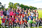 GAMES: Children who won gold,silver and bronz at the Boherbee/Cloghers and Manor Community Games on Sunday evening at the Sport field at Dan Spring Road, Tralee.