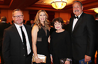 NWA Democrat-Gazette/CARIN SCHOPPMEYER Tommy and Kelly Wyatt (from left) and Kim and Jerry Vest gather at O' Night Divine.