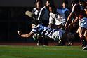 Kento Takeuchi (Meiji), DECEMBER 4, 2011 - Rugby : Kanto Intercollegiate Rugby Games between Waseda University 18-16 Meiji University at National Stadium, Tokyo, Japan. (Photo by YUTAKA/AFLO SPORT) [1040]
