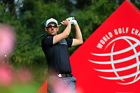 Alexander Bkork (SWE) on the 2nd tee during the 2nd round at the WGC HSBC Champions 2018, Sheshan Golf CLub, Shanghai, China. 26/10/2018.<br /> Picture Fran Caffrey / Golffile.ie<br /> <br /> All photo usage must carry mandatory copyright credit (&copy; Golffile | Fran Caffrey)