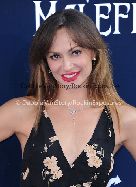 """Karina Smirnoff attends The World Premiere of Disney's """"Maleficent"""" held at The El Capitan Theatre in Hollywood, California on May 28,2014                                                                               © 2014 Hollywood Press Agency"""