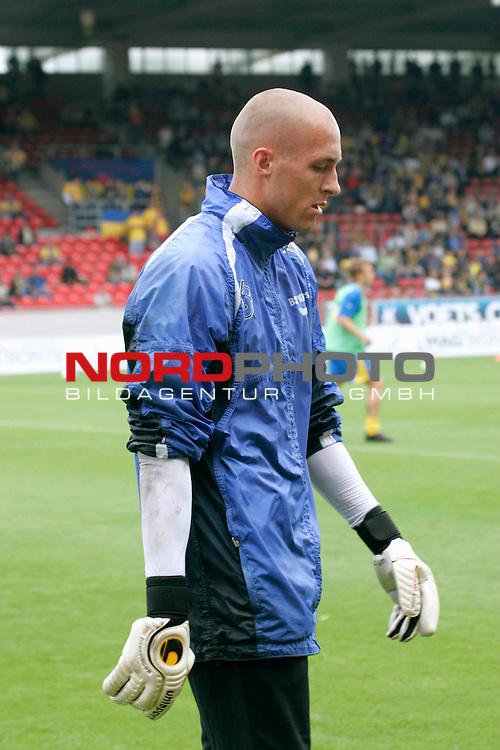 RLN 2007/2008 1. Spieltag Hinrunde<br /> Eintracht Brauschweig - Kickers Emden <br /> <br /> TW Marcus Rickert #30 von Kickers Emden<br /> <br /> Foto: &copy; nph ( nordphoto )<br /> <br />  *** Local Caption ***