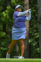 Lizette Salas (USA) watches her tee shot on 2 during round 4 of the U.S. Women's Open Championship, Shoal Creek Country Club, at Birmingham, Alabama, USA. 6/3/2018.<br /> Picture: Golffile | Ken Murray<br /> <br /> All photo usage must carry mandatory copyright credit (&copy; Golffile | Ken Murray)