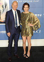 "NEW YORK CITY, NY, USA - MAY 10: Patrick Stewart, Sophie Alexandra Stewart at the World Premiere Of Twentieth Century Fox's ""X-Men: Days Of Future Past"" held at the Jacob Javits Center on May 10, 2014 in New York City, New York, United States. (Photo by Celebrity Monitor)"