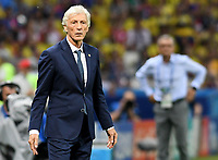 KAZAN - RUSIA, 24-06-2018: Jose PEKERMAN técnico de Colombia durante partido contra de Polonia de la fecha 17 por la clasificación Copa Mundial de la FIFA Rusia 2018 jugado en el estadio Kazan Arena en Kazán, Rusia. / Jose PEKERMAN coach of Colombia during match against Polonia of the first phase, Group H, for the FIFA World Cup Russia 2018 played at Kazan Arena stadium in Kazan, Russia. Photo: VizzorImage / Julian Medina / Cont