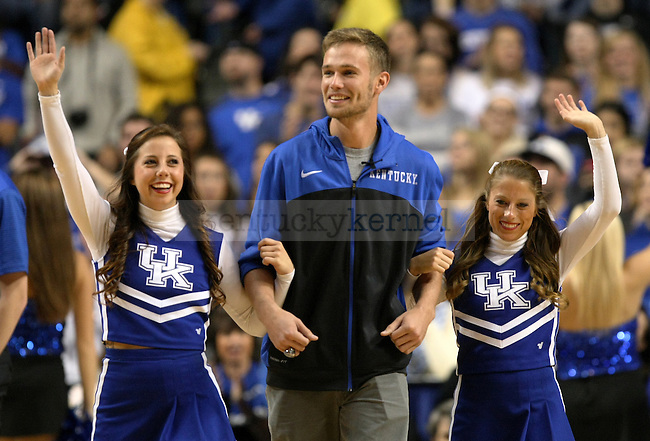 Former UK basketball player Jarrod Polson during the second half of the University of Kentucky vs. State University of New York at Buffalo men's basketball game at Rupp Arena in Lexington, Ky., on Sunday, November 16, 2014. UK won 71-52. Photo by Tessa Lighty | Staff