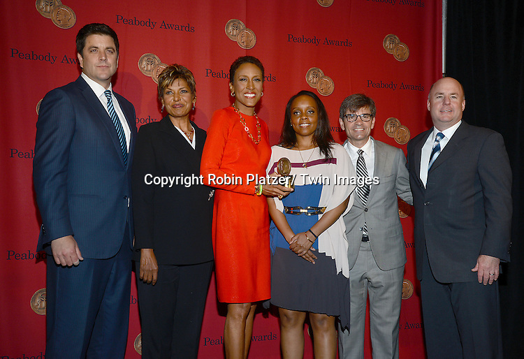 """Robin Roberts, winner for """"Robin's Journey"""" attends the 72nd Annual Peabody Awards on May 20, 2013 at the Waldorf=Astoria Hotel in New York City."""
