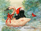 GIORDANO, CHRISTMAS ANIMALS, WEIHNACHTEN TIERE, NAVIDAD ANIMALES, paintings+++++,USGI2704,#XA#