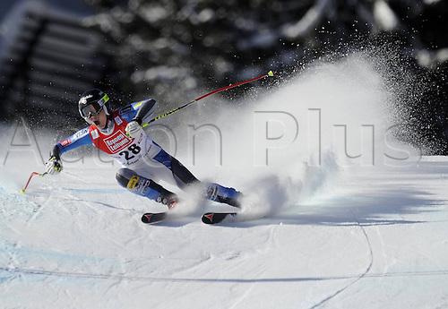 13.01.2013. St Anton, Austria.  Ski Alpine FIS World Cup Super G for women Laurenne Ross USA