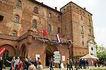 Piemonte Castello di Pralormo Rassegna Floreale Messer Tulipano