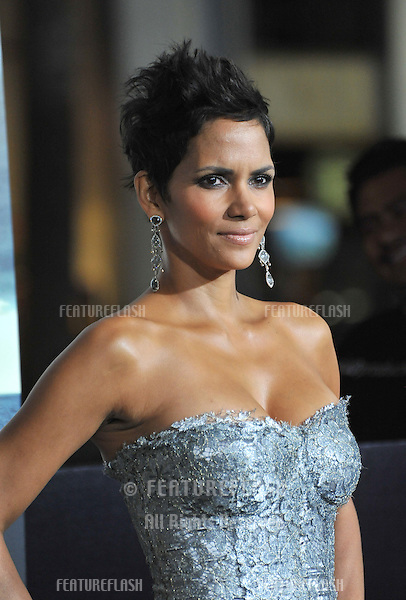 "Halle Berry at the Los Angeles premiere of her new movie ""Cloud Atlas"" at Grauman's Chinese Theatre, Hollywood..October 24, 2012  Los Angeles, CA.Picture: Paul Smith / Featureflash"