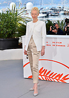 """CANNES, FRANCE. May 15, 2019: Tilda Swinton at the photocall for """"The Dead Don't Die"""" at the 72nd Festival de Cannes.<br /> Picture: Paul Smith / Featureflash"""