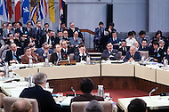 Ottawa, Canada, 13/14/15 February 1978. Quebec Premier René Levesque during a conference of the Canadian Prime  Ministers.