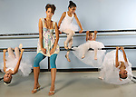 Fashion for Spotlight.  Leg warmers at the Cherry Creek Dance studio in Denver on June 15, 2006.  Little ballerinas help with the shoot.    Lesley has their names. (ELLEN JASKOL/ROCKY MOUNTAIN NEWS).**