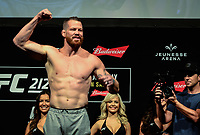 RIO DE JANEIRO, RJ, 02.06.2017 – UFC-RJ – Nate Marquardt  durante pesagem para o UFC 212 na Arena Jeunesse, na zona oeste da cidade do Rio de Janeiro, na noite desta sexta-feira (02). (Foto: Jayson Braga / Brazil Photo Press)