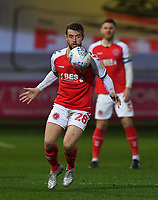 Fleetwood Town's Jack Sowerby<br /> <br /> Photographer Dave Howarth/CameraSport<br /> <br /> Leasing.com Trophy Northern Section Round Three - Fleetwood Town v Accrington Stanley - Tuesday 7th January 2020 - Highbury Stadium - Fleetwood<br />  <br /> World Copyright © 2018 CameraSport. All rights reserved. 43 Linden Ave. Countesthorpe. Leicester. England. LE8 5PG - Tel: +44 (0) 116 277 4147 - admin@camerasport.com - www.camerasport.com