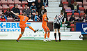 DUNDEE UTD'S PAUL DIXON SCORES UNITED'S FIRST