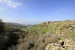 Golan Heights, a view of Wadi Ein Gev and Susita from Ein Fik