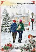 John, CHRISTMAS LANDSCAPES, WEIHNACHTEN WINTERLANDSCHAFTEN, NAVIDAD PAISAJES DE INVIERNO, paintings+++++,GBHSSXC50-1132A,#xl#