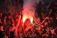 Celtic Fans light flares <br /> Roma 7-11-2019 Stadio Olimpico <br /> Football Europa League 2019/2020 <br /> SS Lazio - Celtic <br /> Photo Andrea Staccioli / Insidefoto