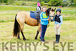 Dylan and Evelyne Kennedy and Tulla Tilly the horse from Trabert at the Blennerville Pony & Agricultural Show on Sunday.