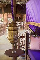 Afrique/Afrique de l'Est/Tanzanie/Zanzibar/Ile Unguja/Bwejuu: Hotel Breezes Beach Club - détail déco
