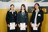 Athletic Girls Finalists - ASB College Sport Young Sportsperson of the Year Awards 2006, held at Eden Park on Thursday 16th of November 2006.<br />
