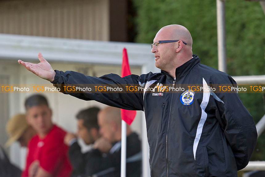 Romford Manager, Paul Martin - Needham Market vs Romford - Ryman League Division One North Football at Bloomfields, Needham Market, Suffolk - 22/09/12 - MANDATORY CREDIT: Ray Lawrence/TGSPHOTO - Self billing applies where appropriate - 0845 094 6026 - contact@tgsphoto.co.uk - NO UNPAID USE.