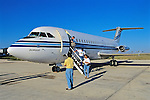 Deboarding Plane