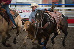 Justin Shaffer during the Cody Stampede event in Cody, WY - 7.1.2019 Photo by Christopher Thompson