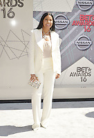 LOS ANGELES, CA - JUNE 26: Cookie Johnson at the 2016 BET Awards at the Microsoft Theater on June 26, 2016 in Los Angeles, California. Credit: Koi Sojer/MediaPunch