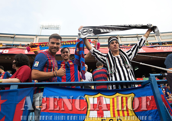 Partido entre FC Barcelona vs Deportivo Alavés por la Copa del Rey en el estadio Vicente Calderón. 27 de mayo de 2017