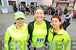 Joanne Keane, Hilda Grimes and Katie Daly (Listowel) who took part in the Carers 10k run on Sunday.