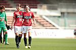 (L to R) <br /> Yuzuho Shiokoshi, <br /> Hikaru Kitagawa (Reds Ladies), <br /> MAY 7, 2016 - Football / Soccer : <br /> Plenus Nadeshiko League 2016 <br /> between Urawa Reds Ladies 1-0 Iga FC Kunoichi <br /> at Saitama Urawa Komaba Stadium in Saitama, Japan. <br /> (Photo by AFLO SPORT)