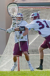 Los Angeles, CA 03/08/10 - Thomas Holman (LMU # 3) in action during the Florida State-LMU MCLA interconference men's lacrosse game at Leavey Field (LMU).  Florida State defeated LMU 12-7.