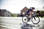Doris Schweizer (SUI) Team Virtu Cycling in action during La Fleche Wallonne Femmes 2018 running 118.5km from Huy to Huy, Belgium. 18/04/2018.<br /> Picture: ASO/Thomas Maheux | Cyclefile.<br /> <br /> All photos usage must carry mandatory copyright credit (&copy; Cyclefile | ASO/Thomas Maheux)