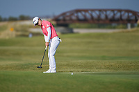 Eun-Hee Ji (KOR) watches her putt on 2 during the round 3 of the Volunteers of America Texas Classic, the Old American Golf Club, The Colony, Texas, USA. 10/5/2019.<br /> Picture: Golffile   Ken Murray<br /> <br /> <br /> All photo usage must carry mandatory copyright credit (© Golffile   Ken Murray)