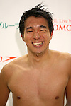 Kyosuke Oyama,<br /> MARCH 6, 2016 - Swimming :<br /> Dispatch player selection meeting for Rio de Janeiro Paralympic<br /> in Fuji city, Shizuoka, Japan.<br /> (Photo by Shingo Ito/AFLO SPORT)