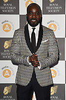Melvin O'Doom<br /> arriving for the RTS Awards 2019 at the Grosvenor House Hotel, London<br /> <br /> ©Ash Knotek  D3489  19/03/2019