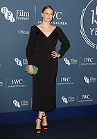 Romola Garai at the IWC Schaffhausen Gala Dinner in honour of the BFI at the Electric Light Station, Shoreditch, London on October 9th 2018<br /> CAP/ROS<br /> ©ROS/Capital Pictures