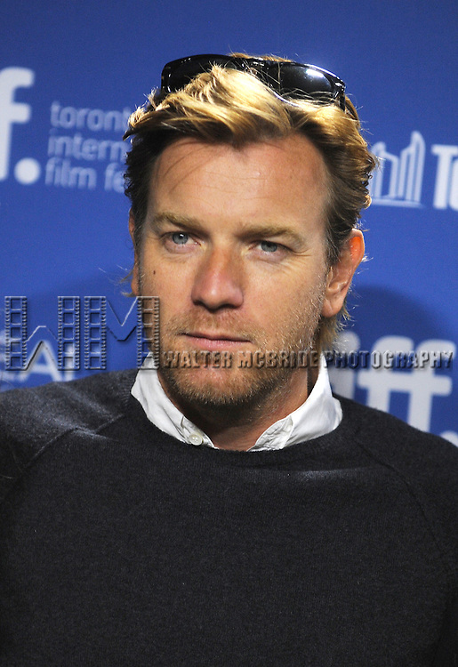 """Ewan McGregor attending the 2013 Tiff Film Festival Photo Call for """"August: Osage County""""  at the Tiff Bell Lightbox on September 10, 2013 in Toronto, Canada."""