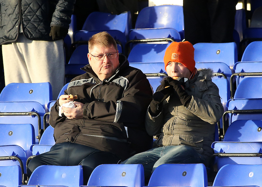 Blackpool fans enjoy the pre-match atmosphere<br /> <br /> Photographer David Shipman/CameraSport<br /> <br /> The EFL Sky Bet League Two - Hartlepool United v Blackpool - Monday 26th December 2016 - Northern Gas and Power Stadium - Hartlepool<br /> <br /> World Copyright &copy; 2016 CameraSport. All rights reserved. 43 Linden Ave. Countesthorpe. Leicester. England. LE8 5PG - Tel: +44 (0) 116 277 4147 - admin@camerasport.com - www.camerasport.com