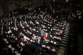 Warsaw 07.04.2010 Poland.Polish parliament..photo Maciej Jeziorek/Napo Images..Warszawa 07.04.2010.Sejm Rzeczypospolitej Polskiej, szosta kadencja..fot. Maciej Jeziorek/Napo Images.