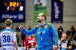 Schweikardt, Juergen (TVB Stuttgart #C1) / TVB 1898 Stuttgart - HSG Nordhorn Lingen / HBL / LIQUI MOLY 1.Handball-BundesligaSCHARRena / Stuttgart Baden-Wuerttemberg / Deutschland <br /> <br /> Foto © PIX-Sportfotos *** Foto ist honorarpflichtig! *** Auf Anfrage in hoeherer Qualitaet/Aufloesung. Belegexemplar erbeten. Veroeffentlichung ausschliesslich fuer journalistisch-publizistische Zwecke. For editorial use only.