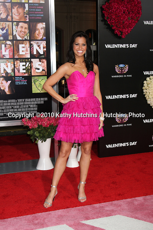 Melissa Rycroft.arrivng at the Valentine's Day World Premiere.Grauman's Chinese Theater.Los Angeles, CA.February 8, 2010.©2010 Kathy Hutchins / Hutchins Photo....