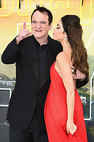 "LONDON, UK. July 30, 2019: Quentin Tarantino & Danielle Tarantino at the UK premiere for ""Once Upon A Time In Hollywood"" in Leicester Square, London.<br /> Picture: Steve Vas/Featureflash"