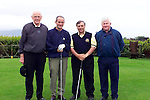 Joe Carroll Past captain Dr. Martin McAleese, Captain Des Dunne and Terry Slone Sec/Manager Dundalk Golf Club on the First Tee..Pic Fran Caffrey Newsfile..Camera:   DCS620X.Serial #: K620X-00546.Width:    1728.Height:   1152.Date:  11/5/01.Time:   19:51:31.DCS6XX Image.FW Ver:   3.2.3.TIFF Image.Look:   Product.Sharpening Requested: Yes.Counter:    [6797].Shutter:  1/40.Aperture:  f10.ISO Speed:  400.Max Aperture:  f2.8.Min Aperture:  f22.Focal Length:  48.Exposure Mode:  Manual (M).Meter Mode:  Color Matrix.Drive Mode:  Continuous High (CH).Focus Mode:  Single (AF-S).Focus Point:  Center.Flash Mode:  Normal Sync.Compensation:  +0.0.Flash Compensation:  +0.0.Self Timer Time:  10s.White balance: Custom.Time: 19:51:31.318.