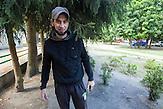 Islam Baskhanov. Refugee Center Grotniki. 2015.07.30. Grotniki, near Łódź. Poland