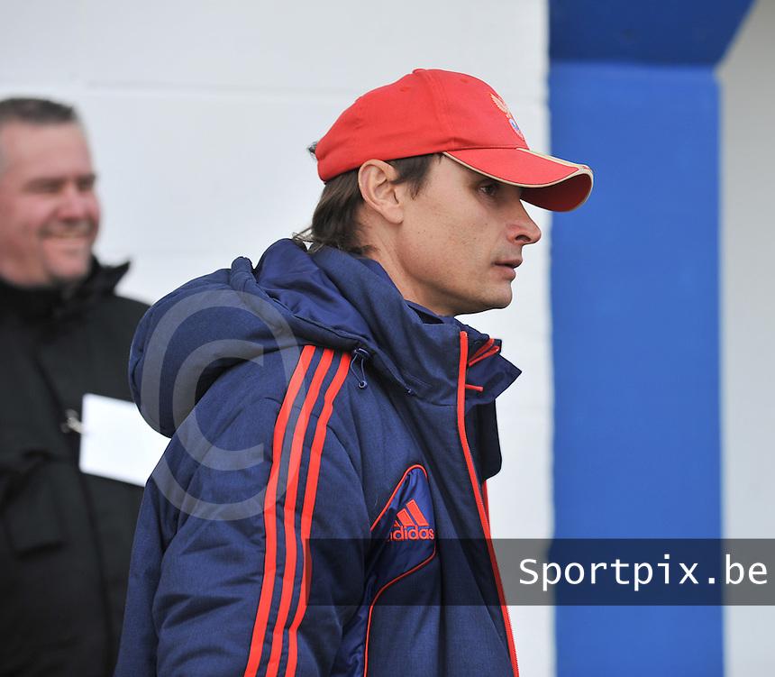 Switzerland U19 - Russia U19 : Sergei Nikitin (RUS) .foto DAVID CATRY / Nikonpro.be